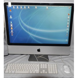 apple imac 24 alu core 2 duo pas cher priceminister rakuten. Black Bedroom Furniture Sets. Home Design Ideas