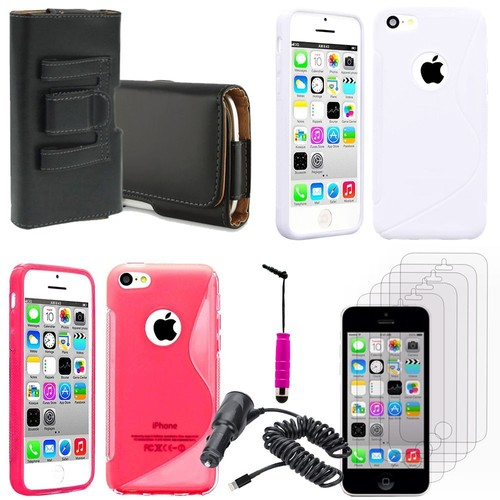 apple iphone 5c lot coque etui housse pochette accessoires. Black Bedroom Furniture Sets. Home Design Ideas