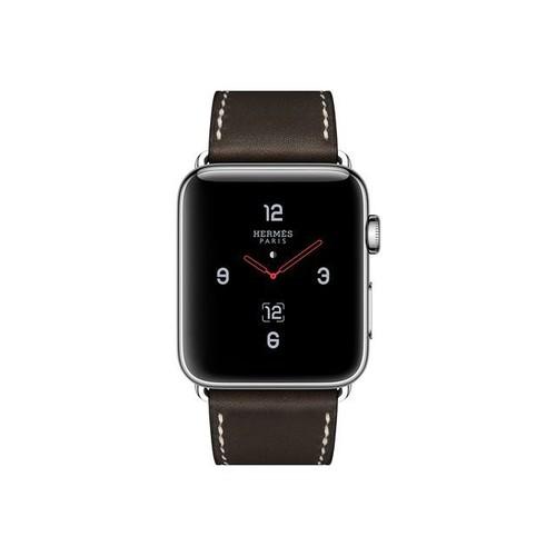 Apple Watch Hermès Series 3 (Gps + Cellular) - 42 Mm - Acier Inoxydable -  Montre Intelligente Avec Boucle ... 628c15f897e