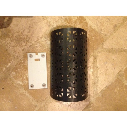 applique murale en fer forg style marocain tr s bon tat. Black Bedroom Furniture Sets. Home Design Ideas