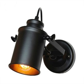 Applique Murale Rétro Pays Loft Style Led Lampes Industrielle Vintage Fer Applique  Murale Pour Bar Cafe ...