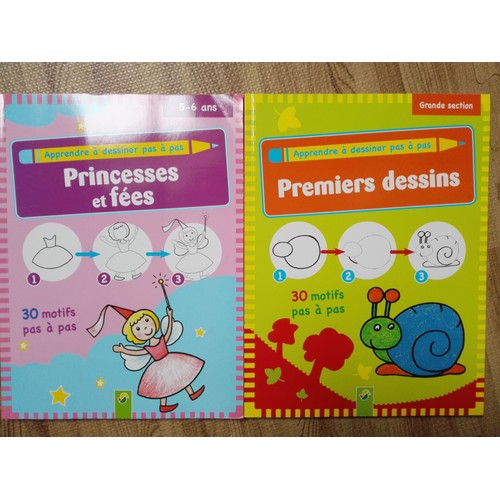 Apprendre à Dessiner Pas à Pas Princesses Et Fées Premiers