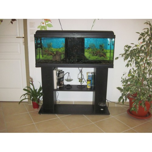 aquarium 120l et meuble achat et vente priceminister rakuten. Black Bedroom Furniture Sets. Home Design Ideas