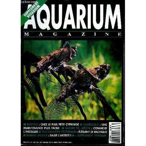 Aquarium Magazine N° 76 Bornéo Chez Le Plus Petit Cyprinidé ...
