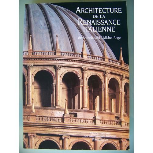 Architecture de la renaissance italienne de brunelleschi for Architecture de la renaissance