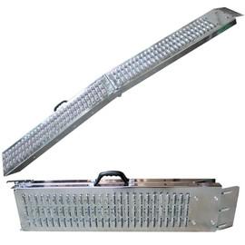 Arebos 2x Rampe Pliable 600 Kg Rampe De Chargement Rampe Rail Contrôle Rampes