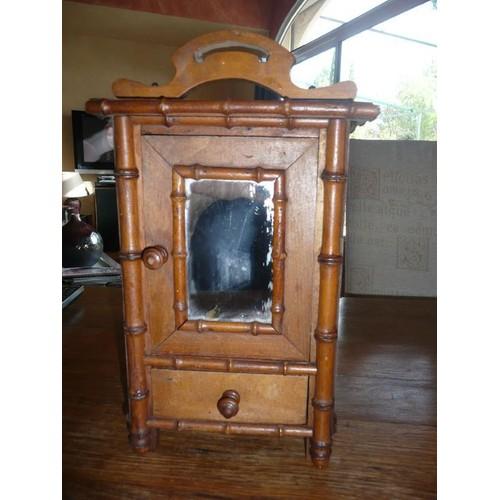 armoire glace ancienne pour jouet ou d coration achat. Black Bedroom Furniture Sets. Home Design Ideas
