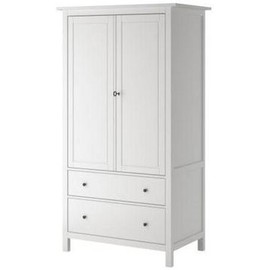 armoire blanche hemn s ikea 2 portes 2 tiroirs achat et vente. Black Bedroom Furniture Sets. Home Design Ideas