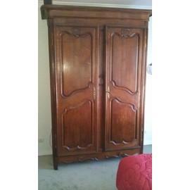 armoire normande en ch ne 18e achat et vente. Black Bedroom Furniture Sets. Home Design Ideas