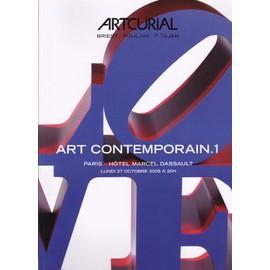 Art Contemporain.1 - Catalogue De Vente Artcurial N� 01458