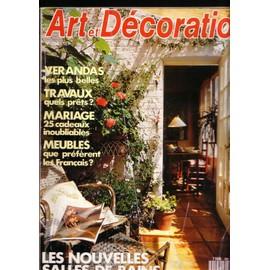 Art & Décoration 294 - Juin 1990 : Les Nouvelles Salles De Bains ...