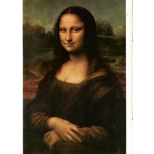 """Art Et Peinture - Léonard De Vinci - """" La Joconde """" - Rakuten"""