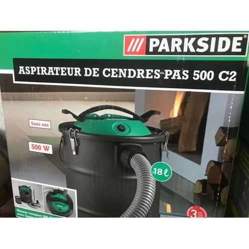 aspirateur cendres parkside pas 500 c2 pas cher priceminister rakuten. Black Bedroom Furniture Sets. Home Design Ideas
