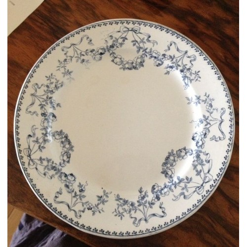 Assiette faience sarreguemines decor mozart achat et vente for Assiette de decoration