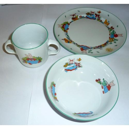 assiette tasse bol porcelaine b b tinou guy degrenne sp cial lave vaisselle. Black Bedroom Furniture Sets. Home Design Ideas