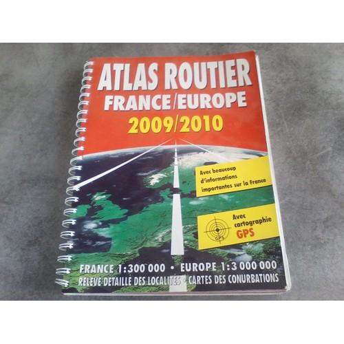 atlas routier france europe 2009 2010 de naumann gobel rakuten. Black Bedroom Furniture Sets. Home Design Ideas