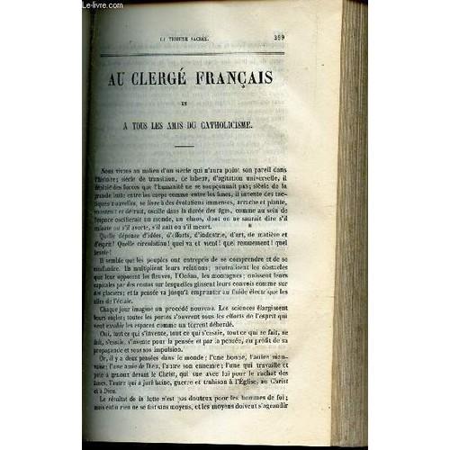 Au Clerge Francais Et A Tous Les Amis Du Catholicisme Theorie De La Raison Humaine Collectif Bailly Charles 1065874543 L