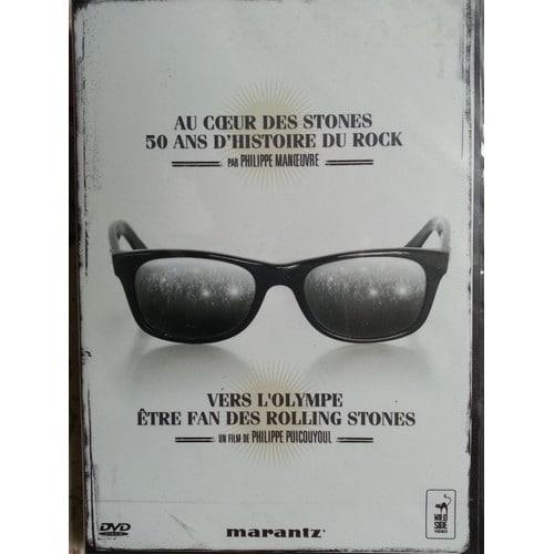 Au coeur des Stones : 50 ans d'histoire du rock. Vers l'Olympe : être fan des rolling stones / Philippe Manoeuvre   MANOEUVRE, Philippe. Auteur