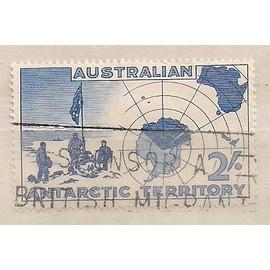 Australie- 1 Timbre Oblit�r� Antarctic Territory