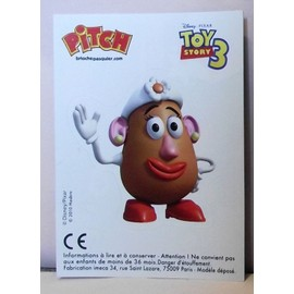 Autocollant pitch pasquier toy story 3 madame patate - Madame patate toy story ...
