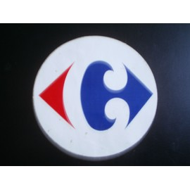 Autocollant Rond Logo Carrefour