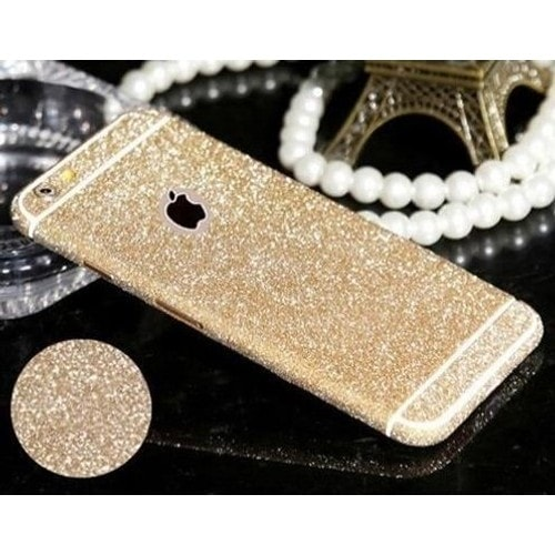 coque iphone 6 or paillette