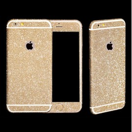 coque iphone 6 paillette or