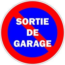 autocollant sticker portail parking sortie garage stationnement interdit panneau. Black Bedroom Furniture Sets. Home Design Ideas