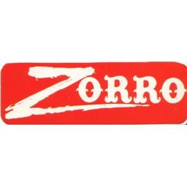 Autocollant Zorro Annees 70