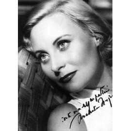 Autographe De Michele Morgan