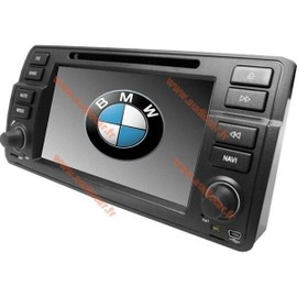 autoradio dvd gps bluetooth pour bmw s rie 3 e46 achat et vente. Black Bedroom Furniture Sets. Home Design Ideas