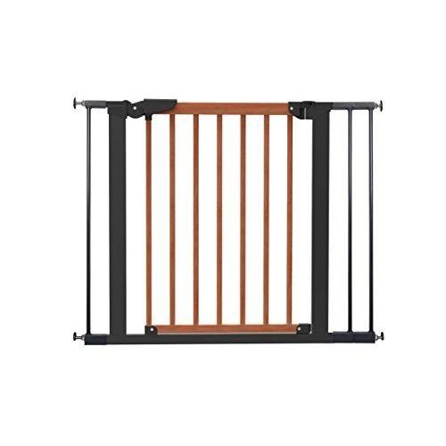 babydan avantgarde barri re fixation par pression pour porte escalier cerisier noir 71 3 97 6 cm. Black Bedroom Furniture Sets. Home Design Ideas