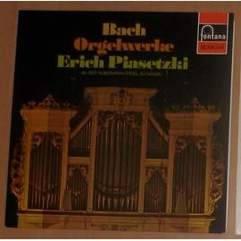 Bach Orgelwerke Triosonate Fantaisie C.Dur Toccata E.Dur Praludium A.Moll ... - Erich Piasetzki