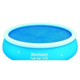 bache t pour piscine autoportante ronde diam tre 244 pas. Black Bedroom Furniture Sets. Home Design Ideas