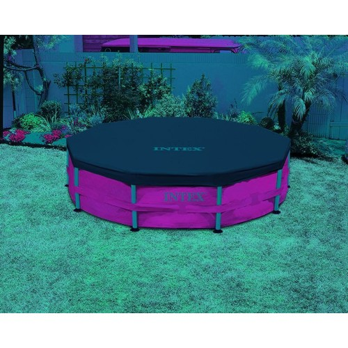 B che pour piscine tubulaire ronde intex pas cher for Bache piscine intex 3 66
