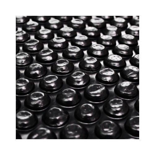 b che solaire bulles pour piscine 6x4 m noir pas cher. Black Bedroom Furniture Sets. Home Design Ideas
