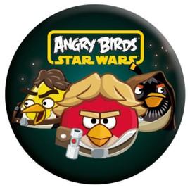 Badge Porte Cl� D�capsuleur Rond 56 Mm Angry Birds