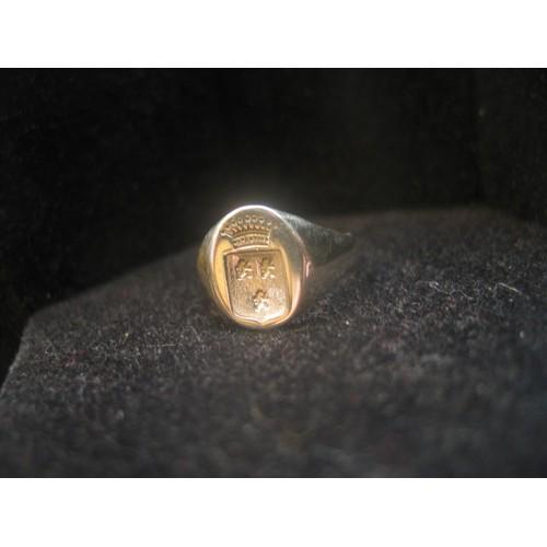 bague chevaliere blason heraldique argent massif 3 petits lions et couronne pour cachet de cire. Black Bedroom Furniture Sets. Home Design Ideas