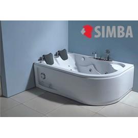 baignoire balneo massante angle haute havana 170 x 115 bain tourbillon jacuzzi. Black Bedroom Furniture Sets. Home Design Ideas