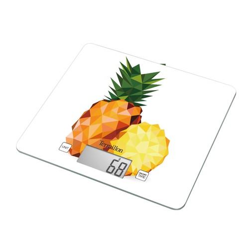 Terraillon t1040 graphique ananas balance de cuisine pas cher - Boulanger balance cuisine ...
