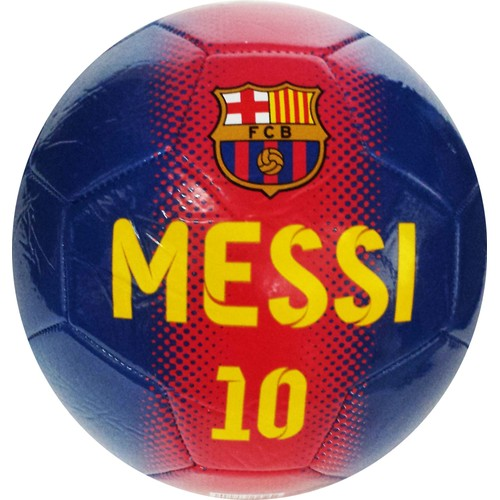 ballon de football barca lionel messi collection officielle fc barcelone taille 5. Black Bedroom Furniture Sets. Home Design Ideas