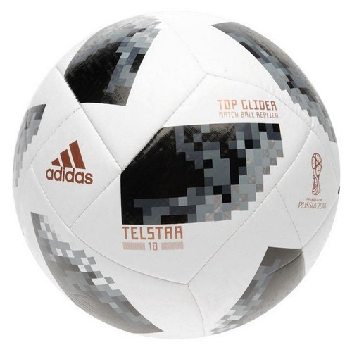 ballon de football telstar adidas top glider officiel coupe du monde 2018. Black Bedroom Furniture Sets. Home Design Ideas