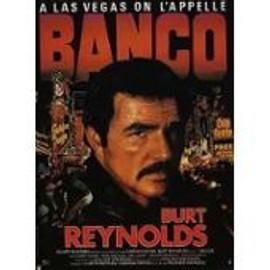 Banco - Richard Richards - Burt Reynolds - Affiche De Cin�ma Pli�e 160x60 Cm