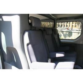 banquette 3 places cabine approfondie pour renault trafic. Black Bedroom Furniture Sets. Home Design Ideas
