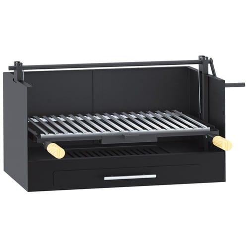 barbecue argentin charbon bois fm bv 20 poser achat et vente. Black Bedroom Furniture Sets. Home Design Ideas