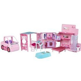 Barbie Camping Car Equestre