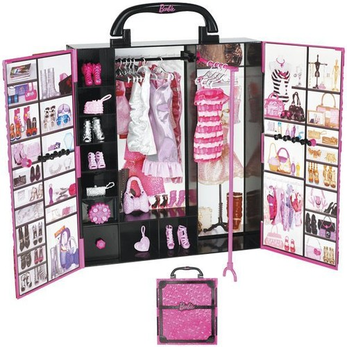 barbie fashionistas dressing de r ve achat et vente. Black Bedroom Furniture Sets. Home Design Ideas