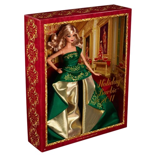 Barbie noel 2011 achat vente de jouet priceminister rakuten - Barbie de noel 2012 ...
