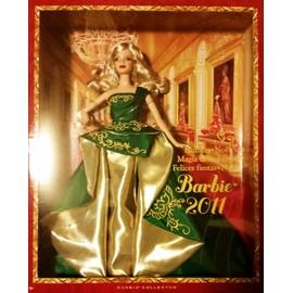 Barbie no l 2011 collection achat vente de jouet priceminister rakuten - Barbie de noel 2012 ...