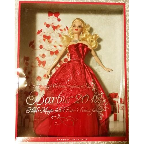 Barbie poup e mannequin collection mattel holiday no l 2012 doll collector - Barbie de noel 2012 ...